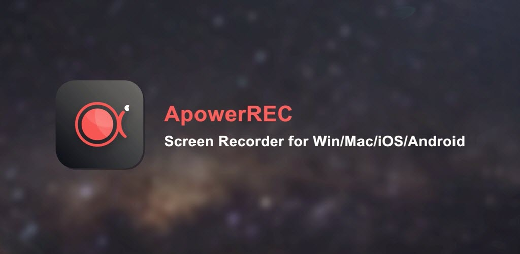 ApowerREC Crack Free Download