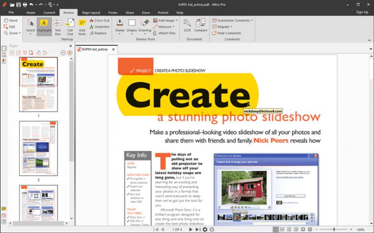 Nitro PDF Full Crack