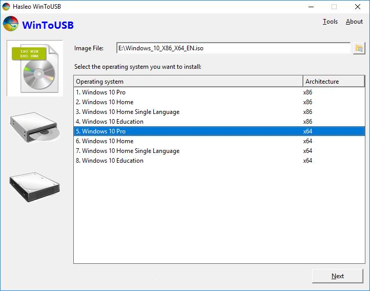 WinToUSB License Key